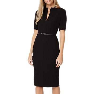 Damsel in a Dress City Suit Dress, Black