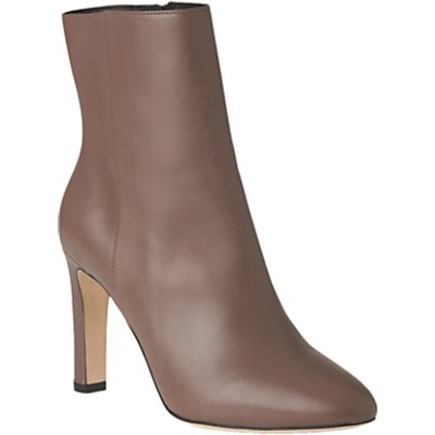 L K  Bennett Edelle Block Heeled Ankle Boots - 5054760225505