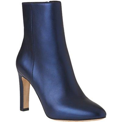 L K  Bennett Edelle Block Heeled Ankle Boots - 5054760225741