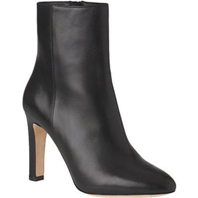 L K  Bennett Edelle Block Heeled Ankle Boots - 5054760225208