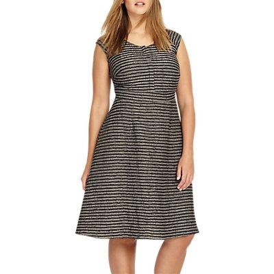 Studio 8 Ally Dress, Black/Grey