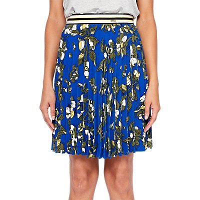 Ted Baker Colour By Numbers Zakai Floral Pleated Skirt - 5054787626651