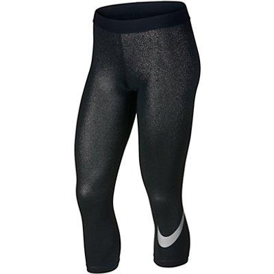 Nike Pro Capri Training Tights  Black Metallic - 884776963062