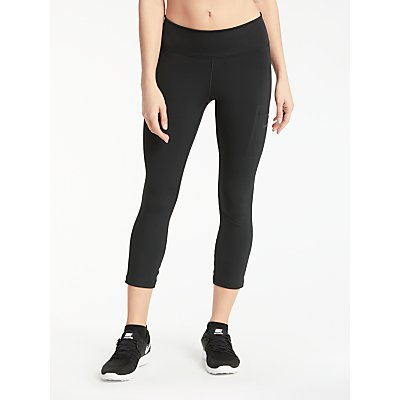 Nike Power Hyper Training Crops  Black - 887229701402