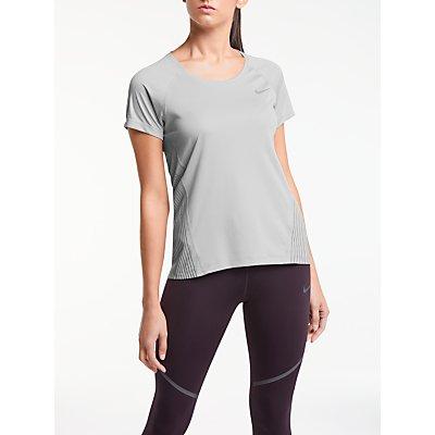 Nike Dry Miler Flash Running Top  Wolf Grey - 884802483496