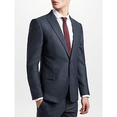Kin by John Lewis Semi Plain Slim Fit Suit Jacket  Petrol - 23949225