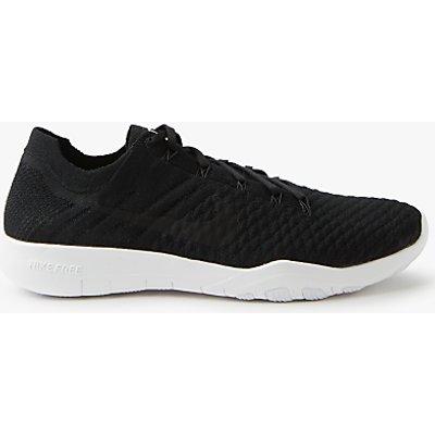 Nike Free TR Flyknit 2 Women s Training Shoes  Black White - 883412573894