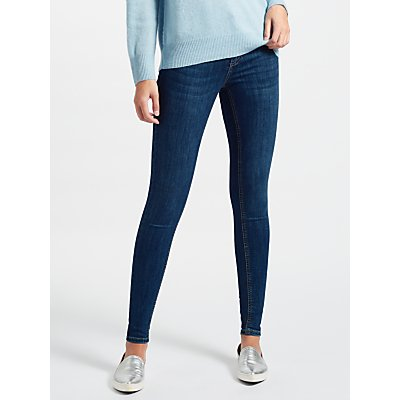 Pieces Delly Distressed Jeans  Medium Blue - 5713722416527