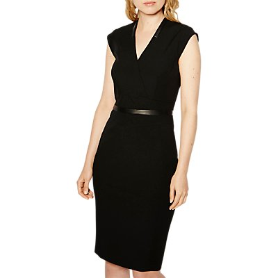 Karen Millen Tailored Dress  Black - 5054236236165