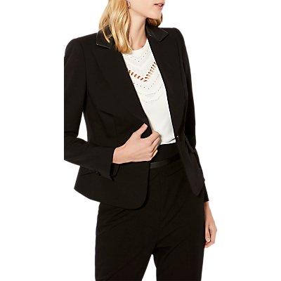Karen Millen The Essentials Tailoring Collection Blazer  Black - 5054236237292
