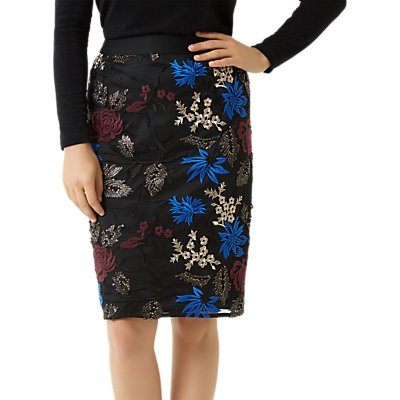Fenn Wright Manson Petite Lulu Skirt, Black/Blush