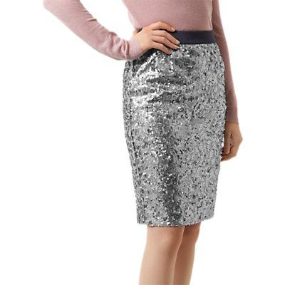 Fenn Wright Manson Caroline Skirt, Silver/Grey