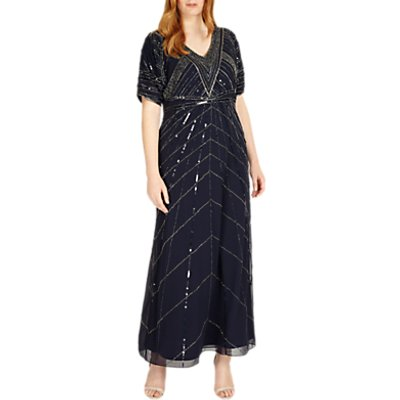 Studio 8 Bethany Maxi Dress, Navy