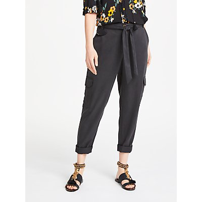 AND OR Cargo Joggers  Washed Black - 24083416