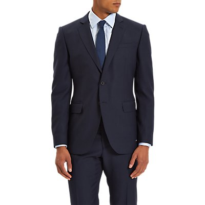 Jaeger Wool Twill Slim Fit Suit Jacket  Navy - 5054589536103