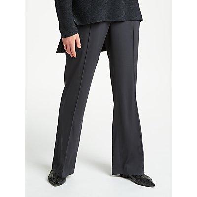 Modern Rarity Satin Trousers  Charcoal - 23904972