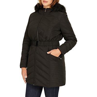 Studio 8 Jamie Long Sleeve Puffer Coat, Black