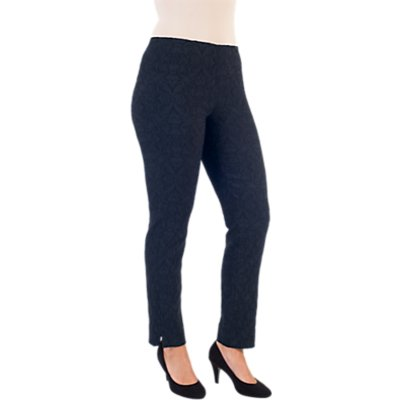 Chesca Jacquard Slim Stretch Trousers