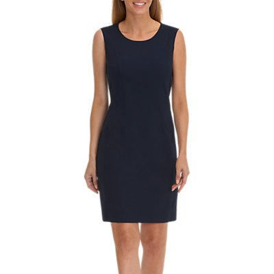 Betty Barclay Round Neck Sleeveless Shift Dress, Night Sky