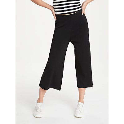 PATTERNITY   John Lewis Easy Knitted Culottes  Black - 24132237
