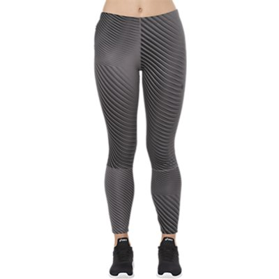 Asics Printed 7 8 Running Tights  Linear Carbon - 8719021572640