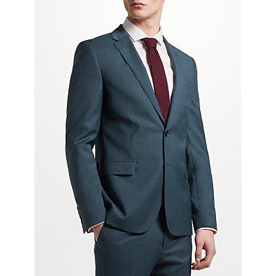 Kin by John Lewis Crepe Slim Fit Notch Lapel Suit Jacket  Teal - 24158640