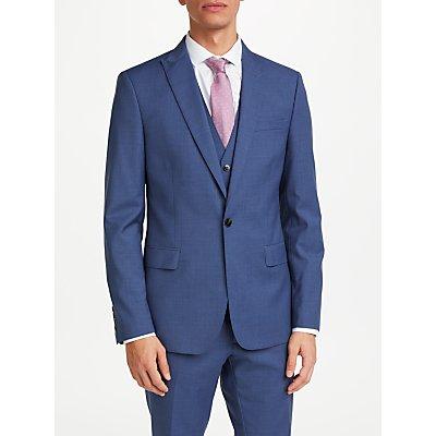 Kin by John Lewis Crepe Slim Fit Suit Jacket  Airforce Blue - 24159326