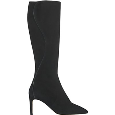 L K  Bennett Bella Knee High Sock Boots - 5054760299735