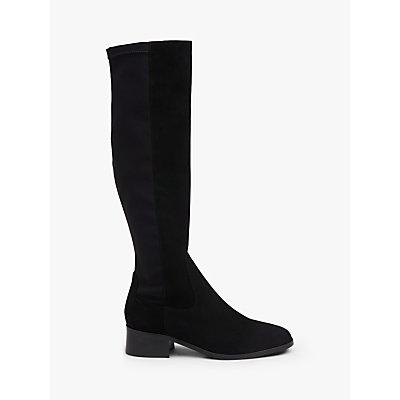 L K  Bennett Bella Knee High Sock Boots - 5054760252747