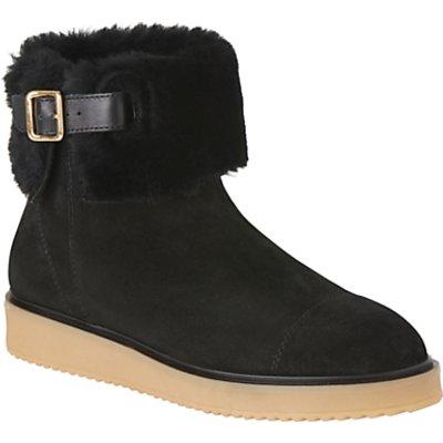 L.K. Bennett Maci Shearling Ankle Boots