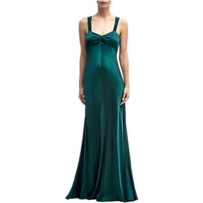 Ghost Bea Dress, Emerald Sea
