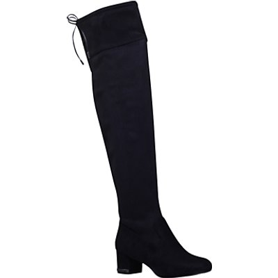 MICHAEL Michael Kors Julianna Over the Knee Boots  Black Suede - 5045062722984