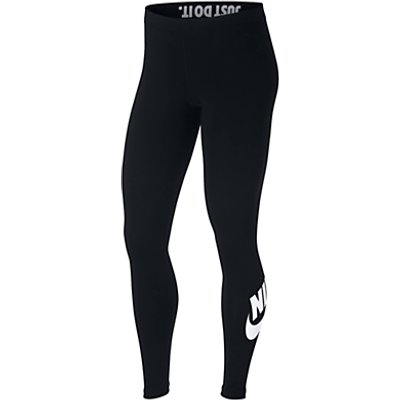 Nike Slogan Sportswear Leggings - 887229592048