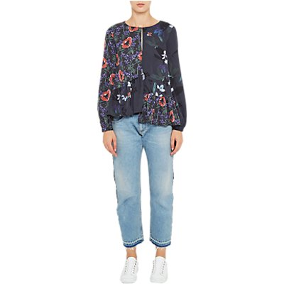 French Connection Tuxedo Mash Up Trousers  Indigo - 889042536896
