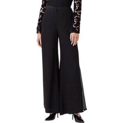 Finery Stanley Opaque Stripe Trousers  Black - 5056041972979