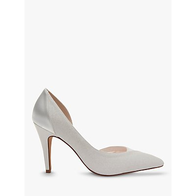 Rainbow Club Roux Pointed Toe Court Shoes, Ivory