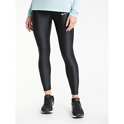 Nike Speed 7 8 Running Tights  Black - 885178851537