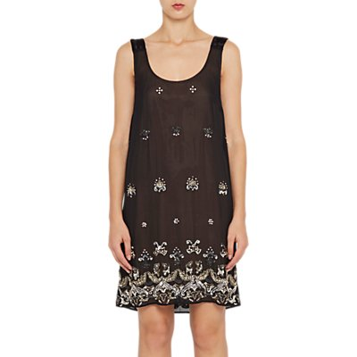 French Connection Elsa Sparkle Strappy Dress, Black