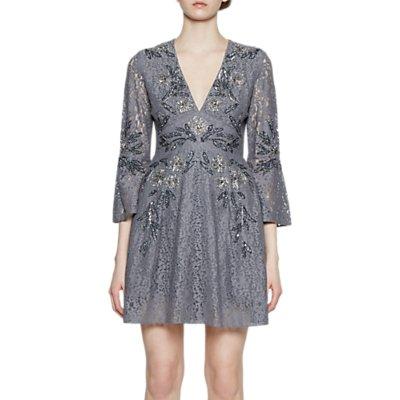 French Connection Esme V-neck Dress