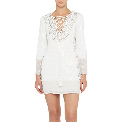 French Connection Mumtaz Strappy Dress, Winter White