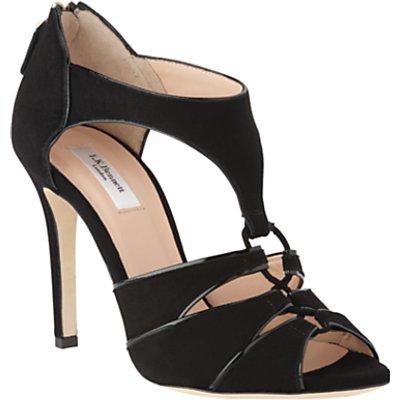 L.K.Bennett Vanessa Stiletto Heel Open Toe Court Shoes