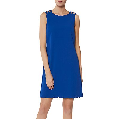 Gina Bacconi Tamsin Button Shoulder Dress