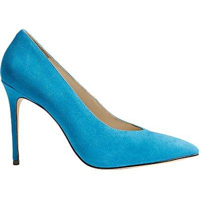 Karen Millen Stiletto Court Shoes, Blue