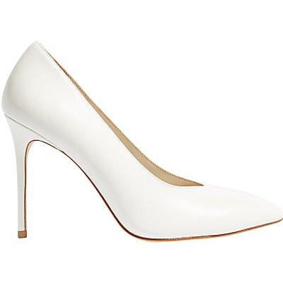 Karen Millen Stiletto Court Shoes  White - 5054236253087