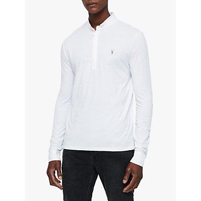 AllSaints Grail Long Sleeve Polo Shirt