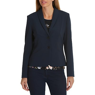 Betty Barclay Tailored Blazer, Dark Sky