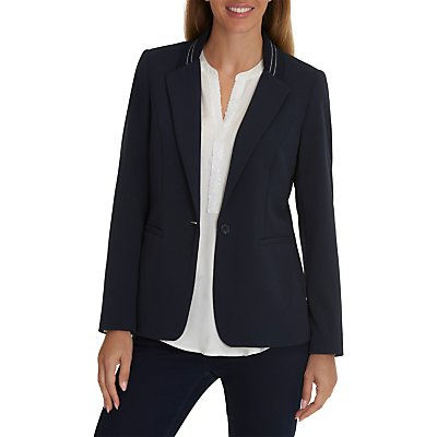 Betty Barclay Sporty Tailored Blazer, Dark Sky
