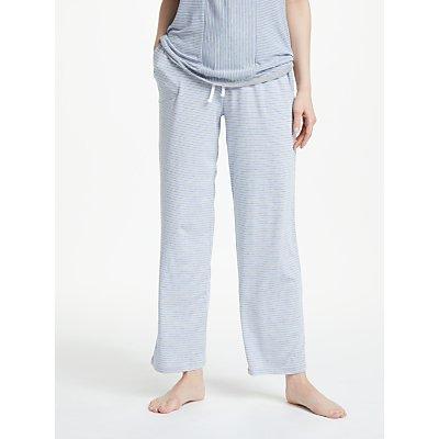 DKNY Lounge Essential Stripe Pyjama Bottoms  Grey - 716273216146