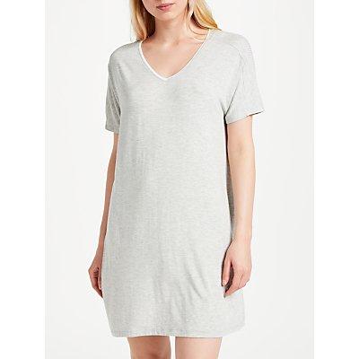 DKNY Core Essential Short Sleeve Nightdress  Grey - 716273240950