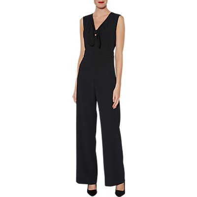 Gina Bacconi Cleo Bow Detail Jumpsuit